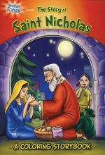 Brother Francis: Saint Nicholas Coloring Book
