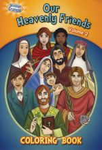 Brother Francis: Our Heavenly Friends - Vol. 2 Coloring Book