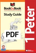 Book by Book: 1 Peter - Guide (PDF)