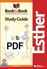 Book by Book: Esther - Guide (PDF)