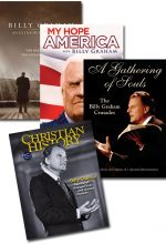 Billy Graham Set of 4
