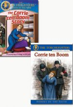 Corrie ten Boom Book and DVD set of 2