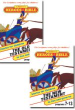 Children's Heroes Of The Bible - Set Of Two