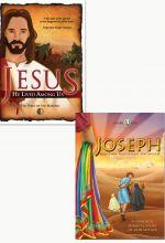 Joseph and Jesus: He Lived Among Us - Set of Two