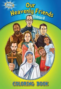 Brother Francis: Our Heavenly Friends - Vol. 5 Coloring Book