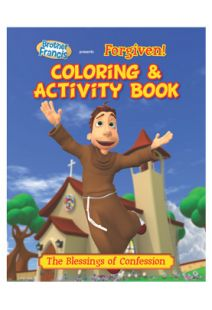 Brother Francis: Forgiven Coloring & Activity Book