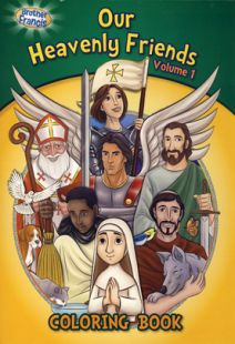 Brother Francis: Our Heavenly Friends - Vol. 1 Coloring Book