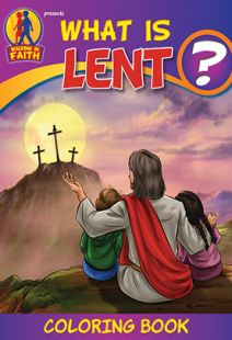 Brother Francis: What is Lent Coloring Book