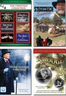 Celebrating Christmases Past - Set of Four