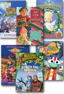 Children's Christmas Sampler - Set of Six