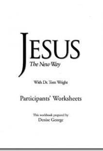 Jesus The New Way - Workbook
