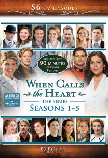 When Calls the Heart: 12-DVD Series Edition Seasons 1-5