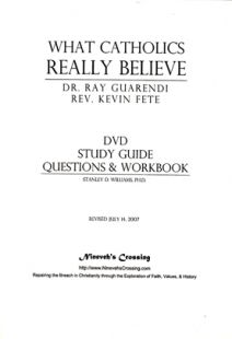 What Catholics Really Believe - Worksheets
