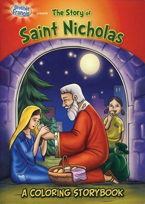 Brother Francis: Saint Nicholas Coloring Book