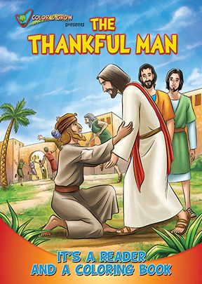 Brother Francis: Thankful Man Coloring Book