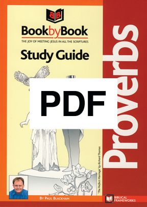 Book by Book: Proverbs - Guide (PDF)