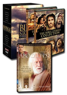 Bible Collection - Set of Twelve Films Plus The Apocalypse