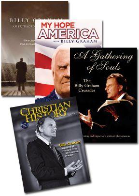 Billy Graham Set of 4