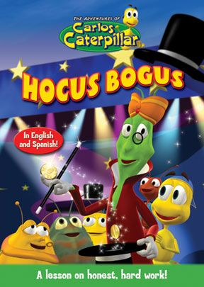 Carlos Caterpillar #12: Hocus Bogus - .MP4 Digital Download