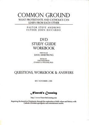 Common Ground Workbook