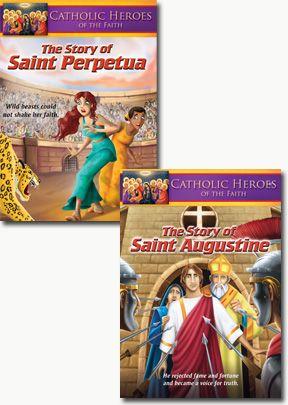 Catholic Heroes of the Faith - Set of Two