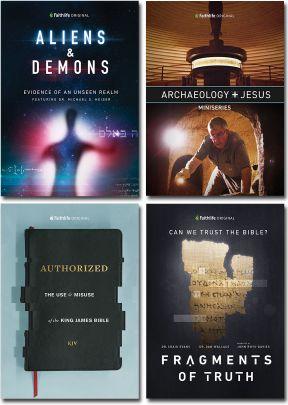 Faithlife Original Documentaries - Set of 4