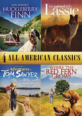 Huckleberry Finn - 4 Movie Pack