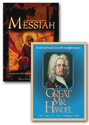 Messiah: George Frideric Handel's / Great Mr. Handel - Set Of Two