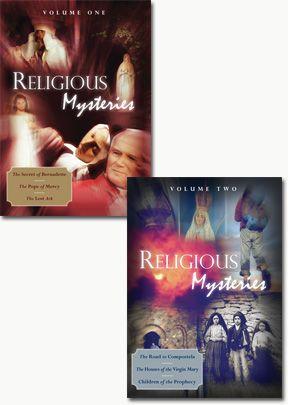 Religious Mysteries - Set of 2