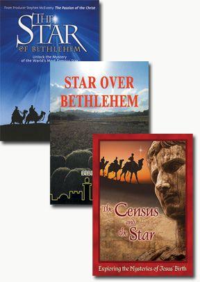 Star of Bethlehem/Census and Star/Star Over Bethlehem - Set of Three