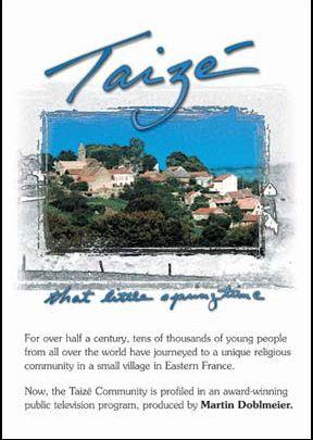 Taizé: That Little Springtime