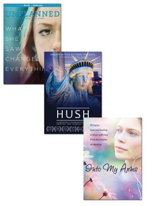 Unplanned and Hush DVD Set + FREE Into My Arms